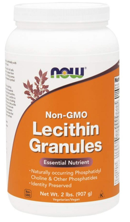 Lecithin Granules NOW (907 gr)