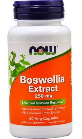 Boswellia Extract 250 mg NOW (60 veg cap)
