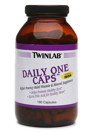 Daily One Caps Without Iron Twinlab (180 кап)