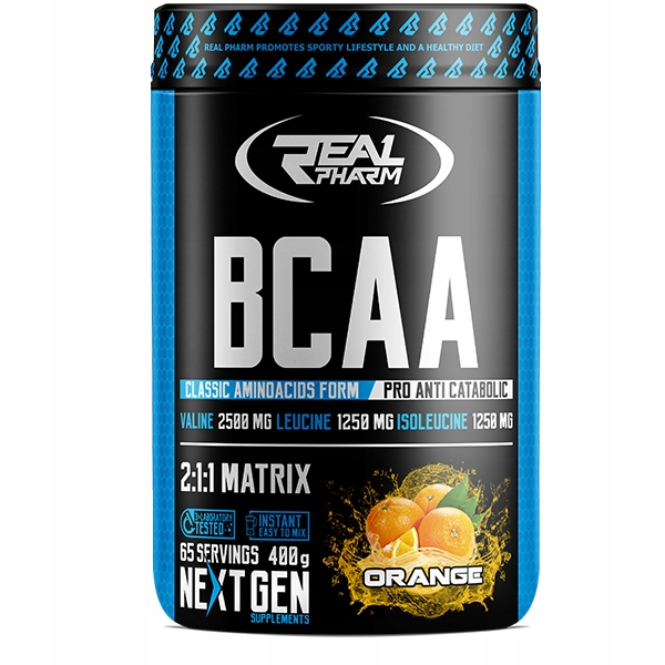 BCAA 2:1:1 Instant Real Pharm (400 g)