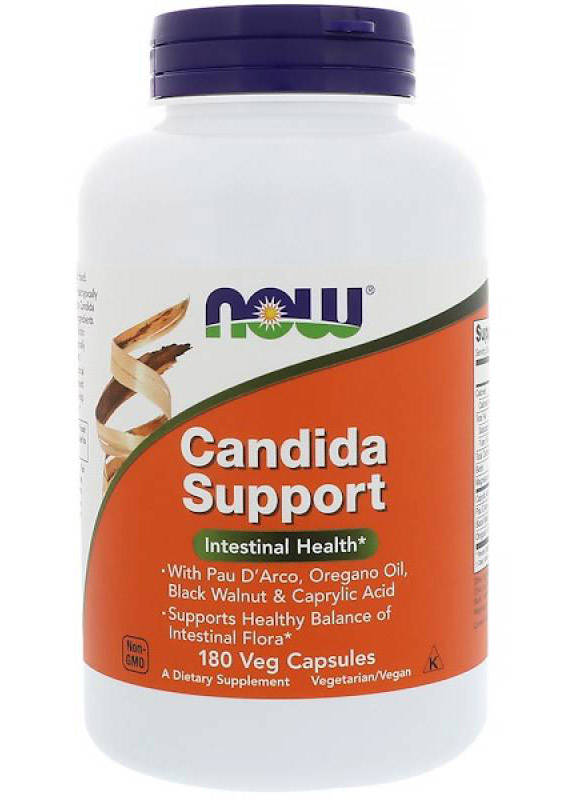 Candida Support NOW (180 вегетарианских капсул)