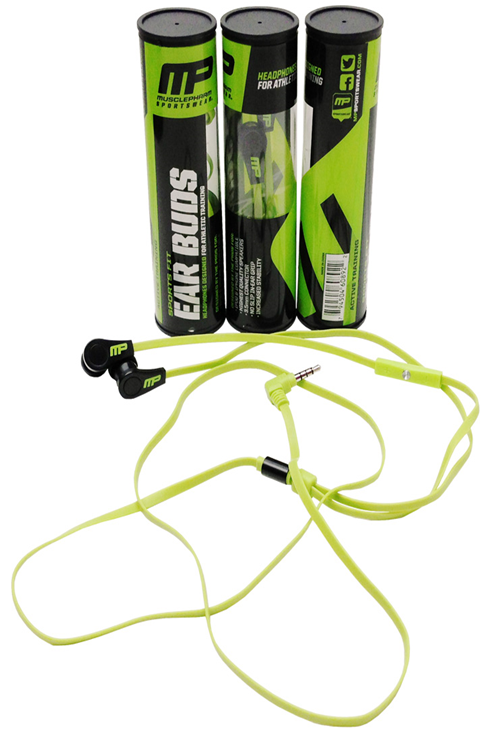 Наушники (Ear buds) MusclePharm