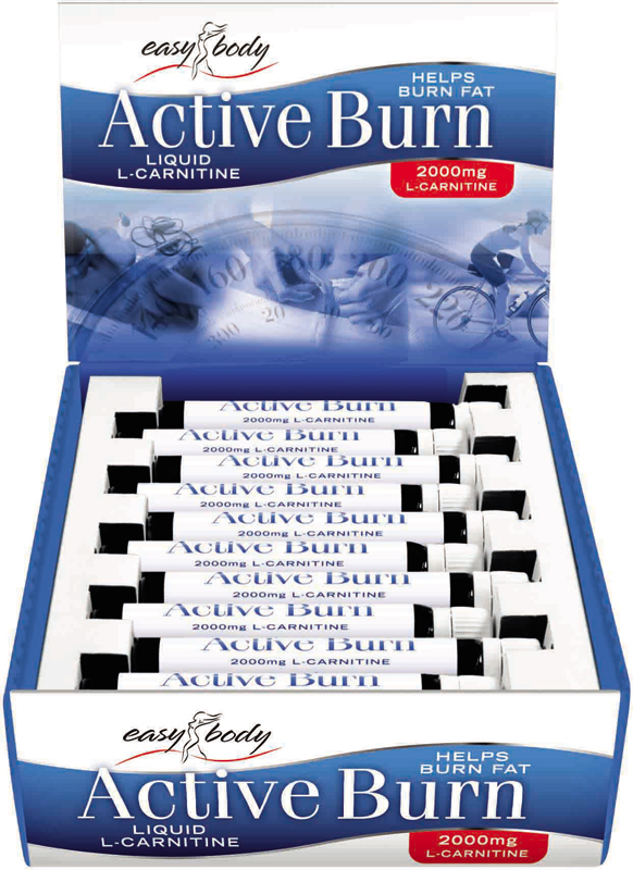 Active Burn (L-Carnitine Liquid 2000mg) QNT (20 амп)