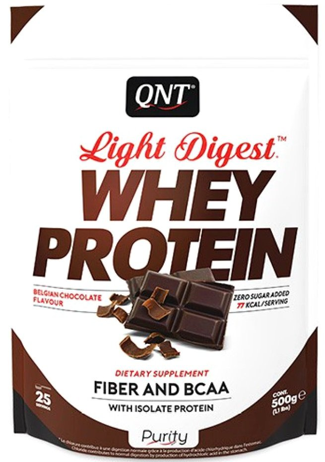 Light Digest Whey Protein QNT (500 gr)(EXP 01/2021)