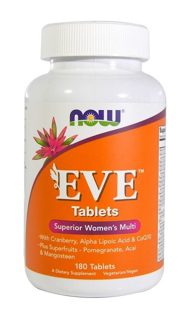 Eve Women's Multiple Vitamin NOW (180 таб)