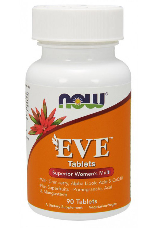 Eve Women's Multiple Vitamin NOW (90 таб)