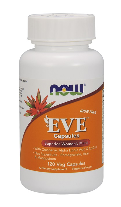 Eve Women's Multiple Vitamin NOW (120 вег. кап)