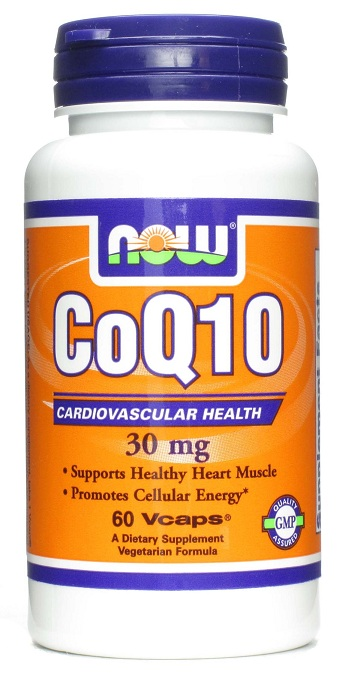 CoQ10 30 mg NOW (60 вегетарианских капсул)
