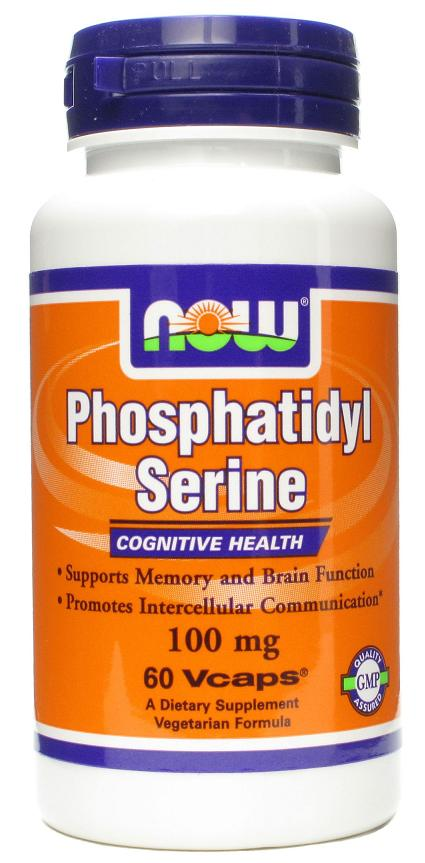 Phosphatidyl Serine 100 mg NOW (60 Vcaps)