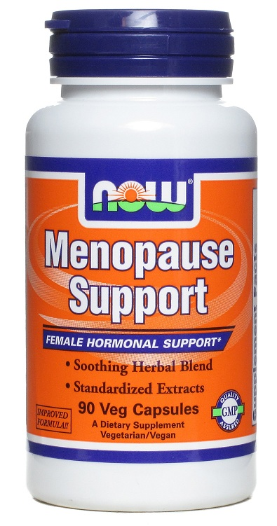 Menopause Support NOW (90 вегетарианских капсул)