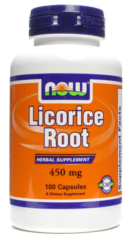Licorice Root 450 mg NOW (100 кап)