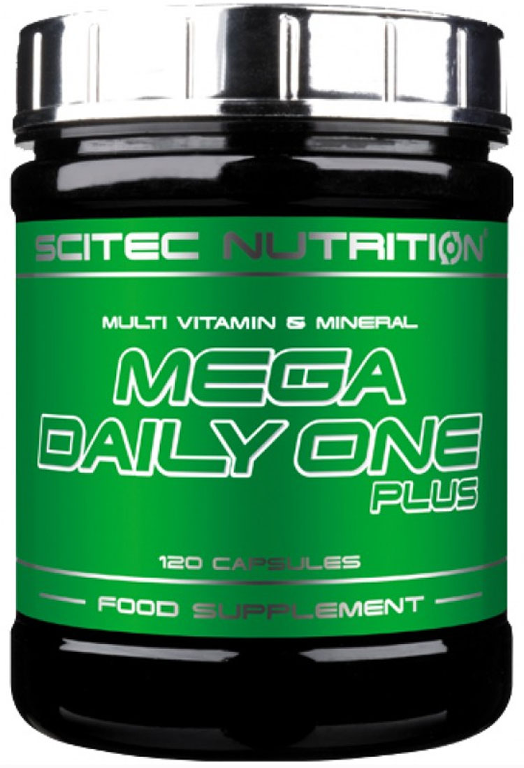 MEGA DAILY ONE PLUS SCITEC NUTRITION (120 кап)