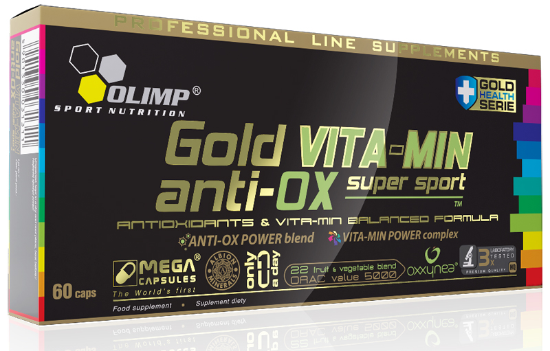 GOLD VITA-MIN anti-OX super sport Olimp (60 кап)