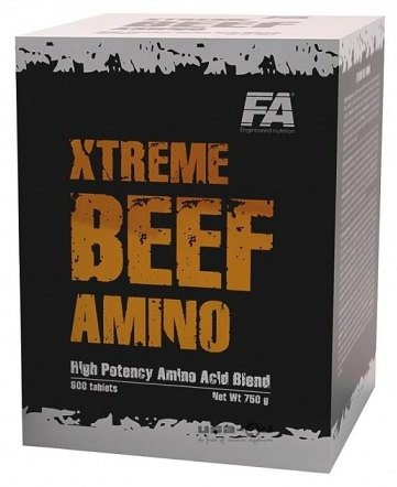 Xtreme Beef Amino Fitness Authority (600 таб)