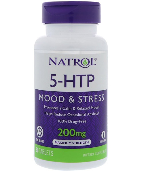 5-HTP 200 mg Time Release Natrol (30 таб)