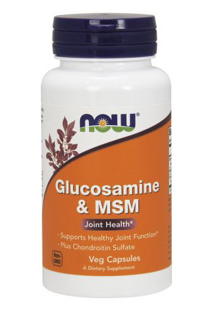 Glucosamine & MSM NOW (60 Caps)
