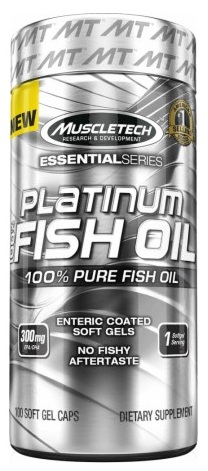 100% Platinum Fish Oil Muscle Tech (100 softgel)