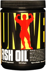 Fish Oil Universal Nutrition (100 гелевых капсул)