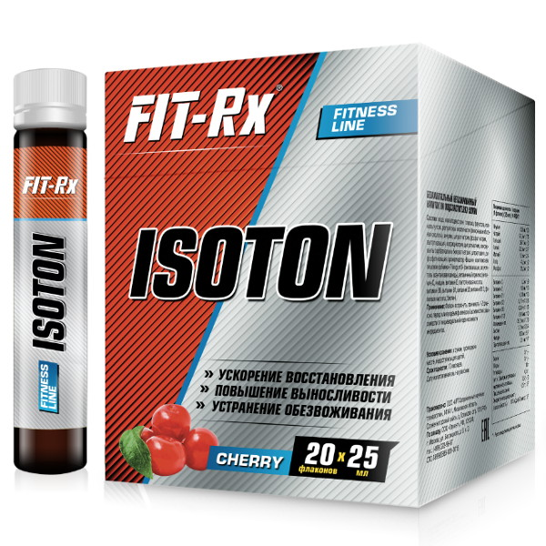 Isoton FIT-Rx (20 х 25 мл)