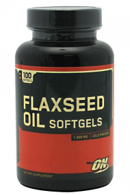 Flaxseed Oil Softgels (100 softgels)