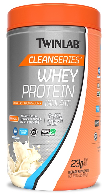 Whey Protein Isolate Clean Series Twinlab (680 гр)