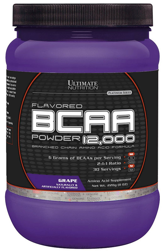 BCAA 12 000 Powder Flavored (228 гр)