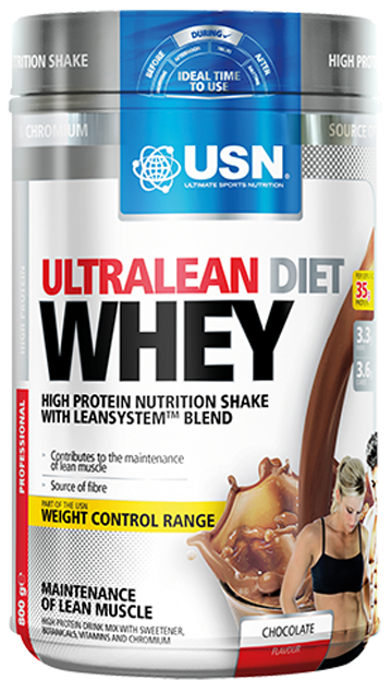 Ultralean Diet Whey USN (800 гр)(годен до 07/2017)