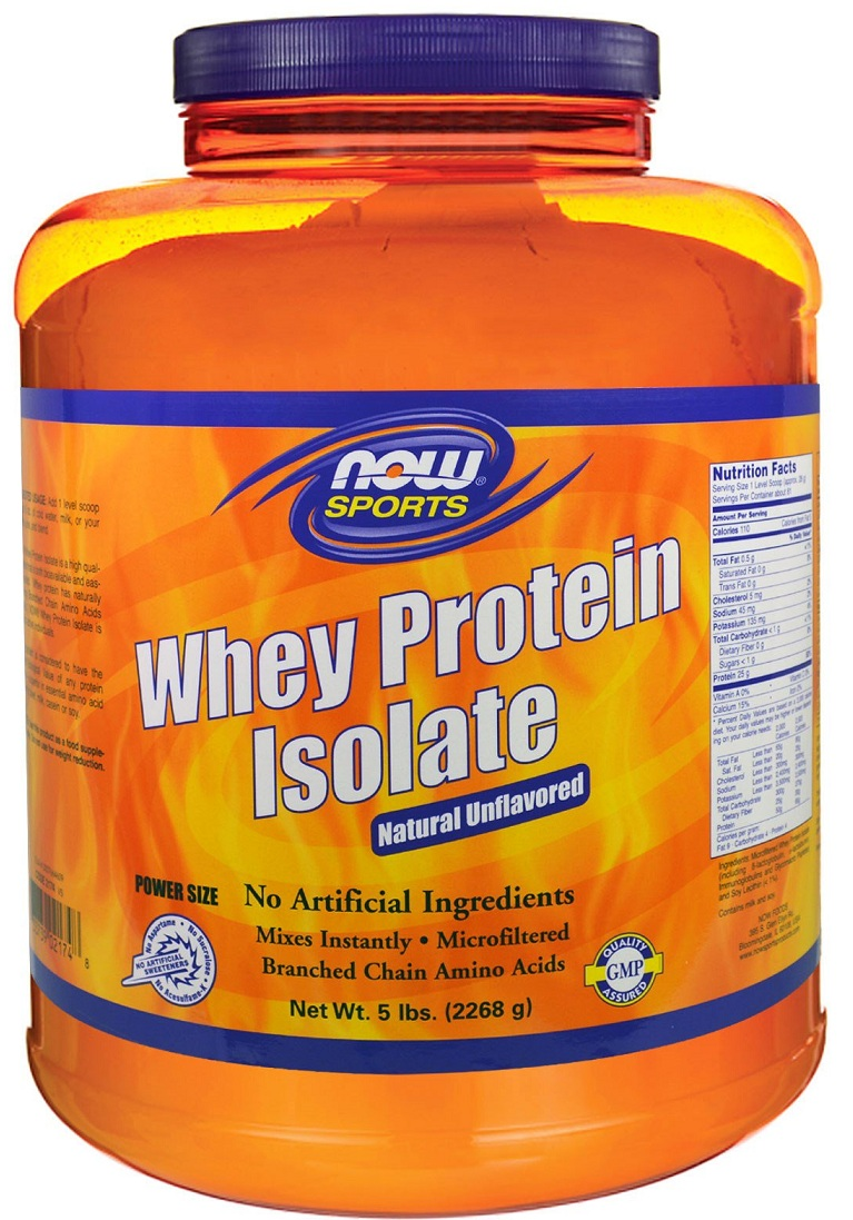 Whey Protein Isolate NOW (2268 g)