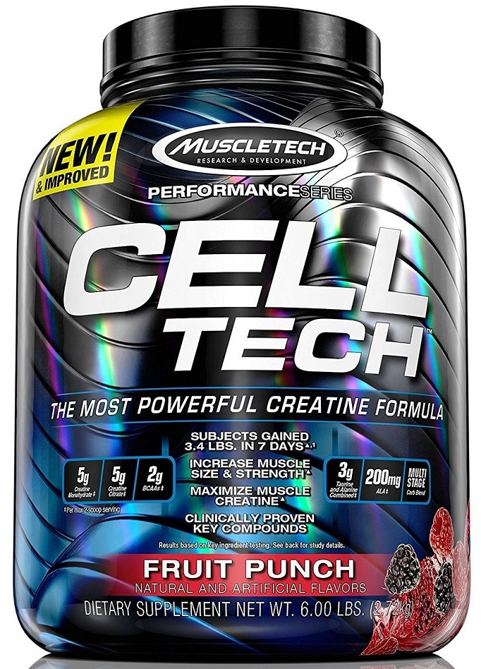 Cell-Tech Performance Series MuscleTech (2720 gr)