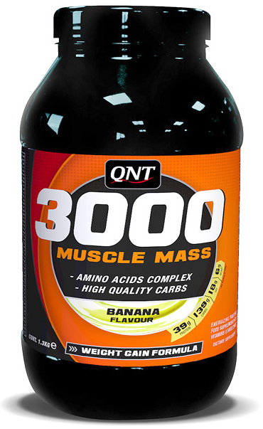 Muscle Mass (Weight Gain) 3000 QNT (4,5 кг)(годен до 12/2016)