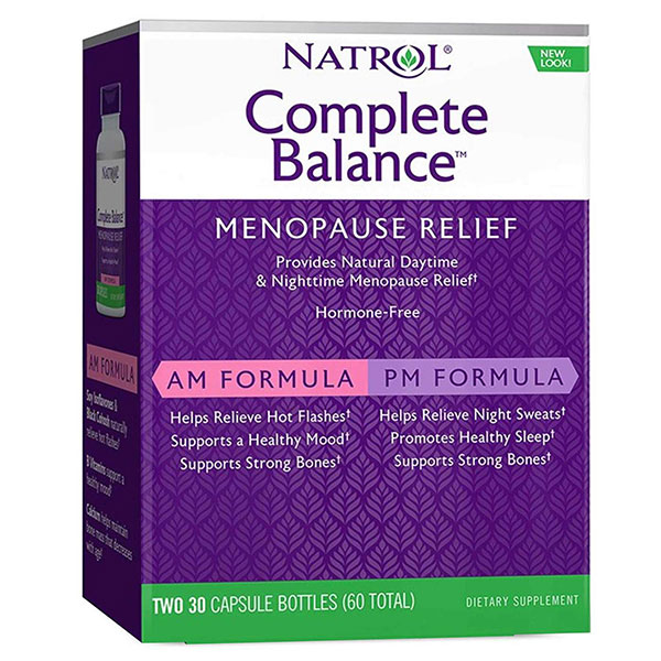 Complete Balance for Menopause AM/PM Natrol (30+30 cap)