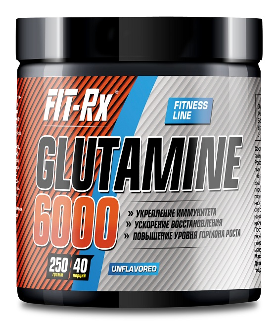 Glutamine 6000 FIT-Rx (250 гр)