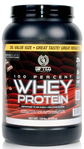 100% Whey Protein Gifted Nutrition (860 гр)(годен до 01/2019)