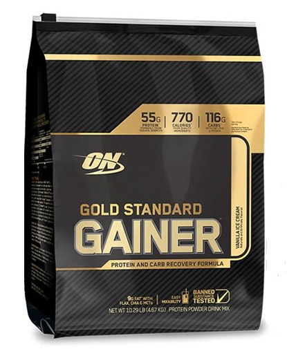 Gold Standard Gainer Optimum Nutrition (4670 гр)годен до 10/2018