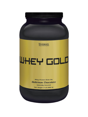 Whey Gold Ultimate Nutrition (908 гр)