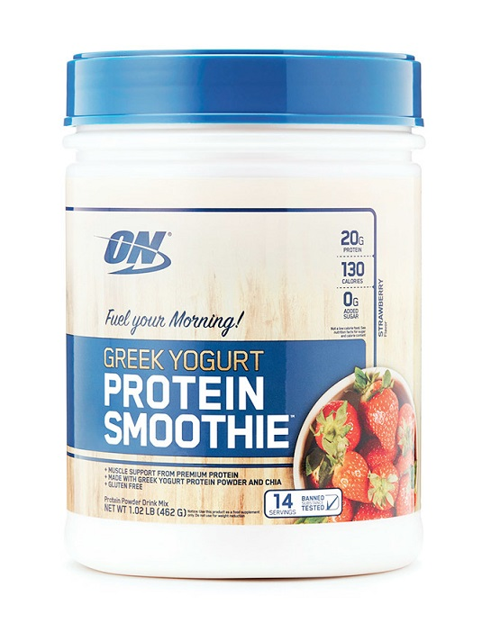 Greek Yogurt Protein Smoothie Optimum Nutrition (462 gr)(EXP 10/2020)