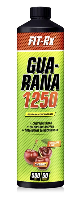 Guarana 1250 FIT-Rx (500 мл)