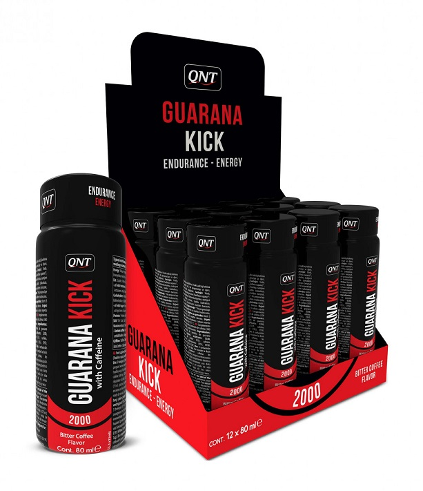 Guarana Kick 2000 mg QNT (12 x 80 мл)