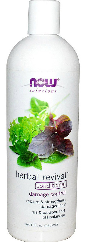 Natural Herbal Revival Conditioner NOW (473 мл)