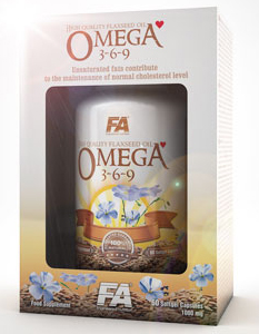 Omega 3-6-9 Fitness Authority (120 cap)