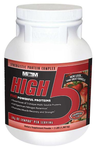 High Five Blend Of 5 Proteins Max Muscle (1362 гр)