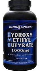 Hydroxy Methyl-Butyrate 1000 mg BodyStrong (180 кап)