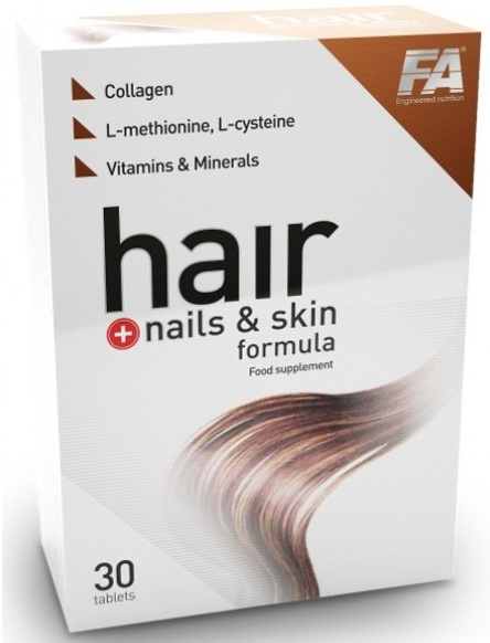 Hair Nails & Skin Formula Fitness Authority (30 tab)