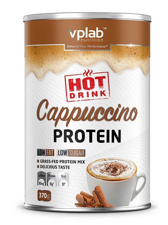 Hot Cappuccino Protein VPLab Nutrition (370 g)
