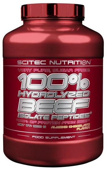 100% HYDROLYZED BEEF ISOLATE PEPTIDES SCITEC NUTRITION (1800 гр)