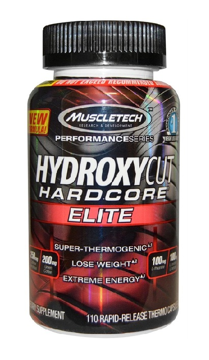 Hydroxycut Hardcore Elite New MuscleTech (110 кап)