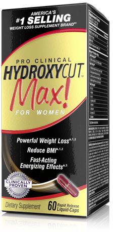 Hydroxycut Max Pro Clinical for Women (60 кап)