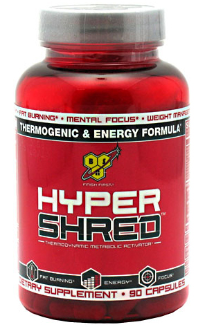Hyper Shred BSN (90 cap)