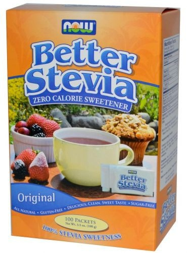 BetterStevia Packets NOW (100 Packets/Box)(EXP 03/2017)