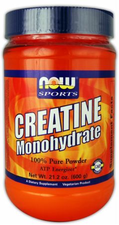 Creatine Monohydrate Powder NOW (600 гр)